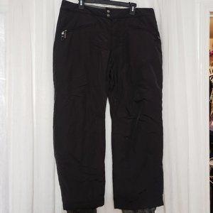 White Sierra Black Snow Ski Winter Pants XL